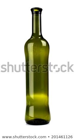 üres zöld sörösüveg forma terjedelem különböző Stock fotó © albund