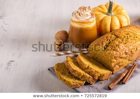 カボチャ パン 素朴な 食品 オレンジ ストックフォト © Alex9500