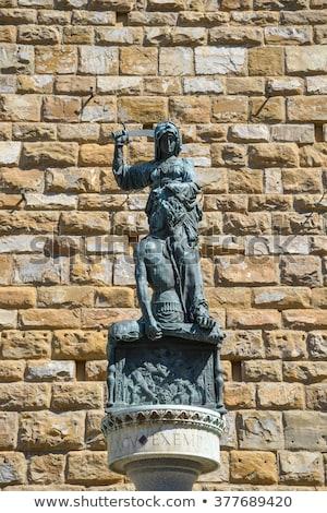 コピー 像 フィレンツェ イタリア 壁 アーキテクチャ ストックフォト © boggy