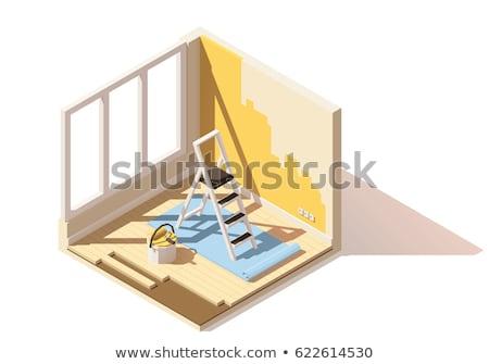 молота · иллюстрация · белый · прав · правосудия - Сток-фото © tele52