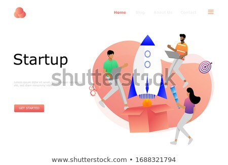 business · software · oplossing · analyse · vector · website - stockfoto © decorwithme