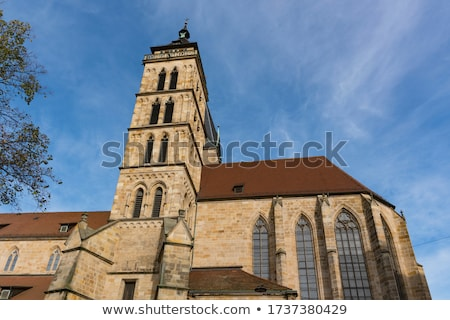 Kerk Duitsland basiliek drie hoog Stockfoto © borisb17