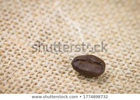 ホット 香ばしい コーヒー豆 プロセス 煙 ストックフォト © LoopAll