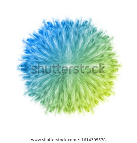 Füst szimmetrikus robbanás por csobbanás gradiens Stock fotó © artjazz