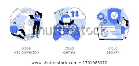 Computer gaming vector concept metaphor Stock photo © RAStudio