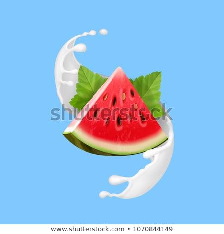 Heerlijk water meloen zoetwater ijs drinken Stockfoto © BarbaraNeveu
