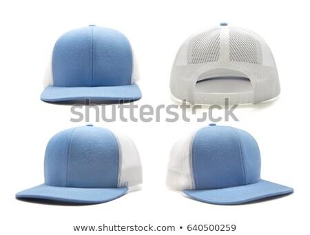 Isolé drap cap vu haut blanche Photo stock © Musat