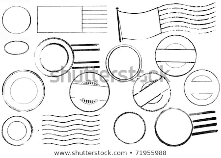 vieux · lettres · élégante · écriture · correspondance · papier - photo stock © fenton