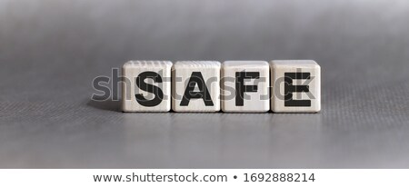 Protection - Word and Safe Dials Stock photo © iqoncept