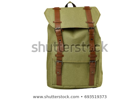 Reizen Maakt een reservekopie pack geïsoleerd zwarte school Stockfoto © Raduntsev