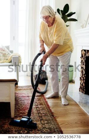odkurzacz · praca · domowa · piętrze · domu · czyszczenia - zdjęcia stock © photography33