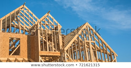 home construction and sky Stock photo © sweetcrisis