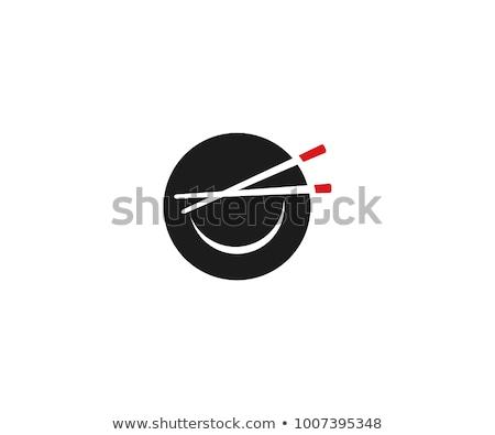 Japanese Chopsticks and a bowl stock photo © Arsgera