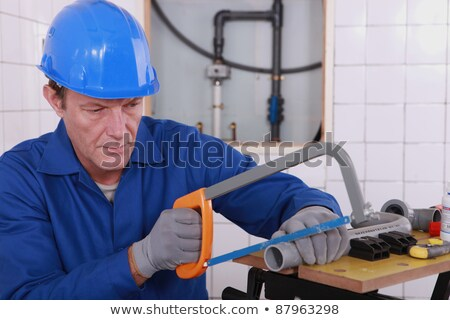 an experienced tradesman stock photo © photography33