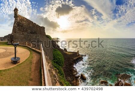 Fuerte torre vista histórico fortificación Foto stock © ArenaCreative