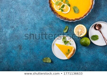Tarte au Citron Stock photo © danielgilbey