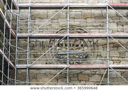 Igreja reconstrução história religião Foto stock © Sarkao