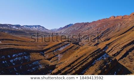 Stock photo: Beautiful panorama form hill