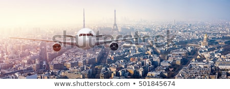 Scenico view Parigi Francia casa nubi Foto d'archivio © haraldmuc