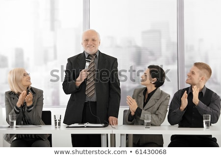 man is giving applause  Stock photo © Pakhnyushchyy