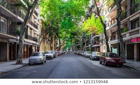 Буэнос-Айрес Небоскребы Аргентина бизнеса небе Сток-фото © Spectral