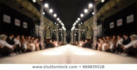 Vazio moda pista vetor próprio modelo Foto stock © kovacevic