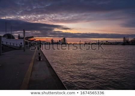 Сток-фото: порта · воды · моста · судно · туризма