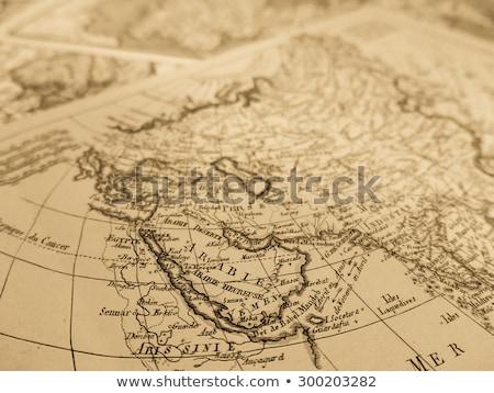 international economy old map stock photo © lightsource