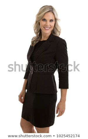 portrait of an attractive blonde businesswoman stock photo © photography33