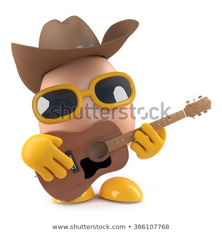 Cowboy egg Stock photo © antonbrand