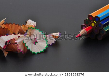 Background of colrful pencil shavings. Stock photo © inxti