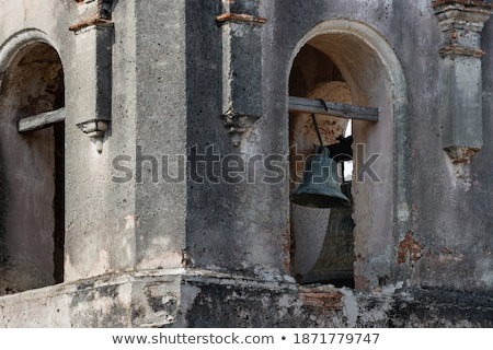waisted wall in ancient builiding stock photo © konradbak