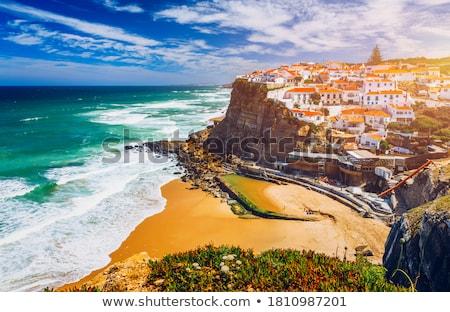 köy · Portekiz · plaj · su · güneş · manzara - stok fotoğraf © lianem