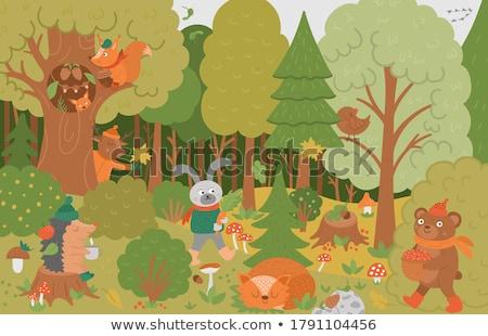Gland animaux Nice naturelles jouet enfants Photo stock © jonnysek