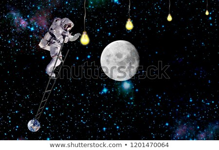 Earth and Ladder Stock photo © eyeidea