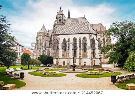 Kapel Slowakije gebouw stad reizen Stockfoto © phbcz