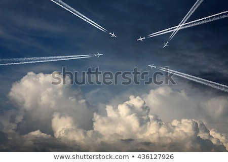 Crowded Airspace Stock photo © blamb