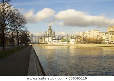Moscou · cityscape · rio · parque · céu · água - foto stock © burchenko