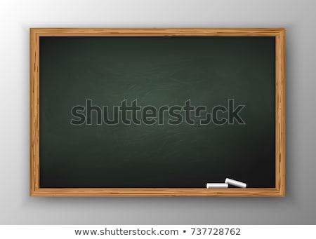 tahta · zor · tahta · yalıtılmış · beyaz · okul - stok fotoğraf © dashadima