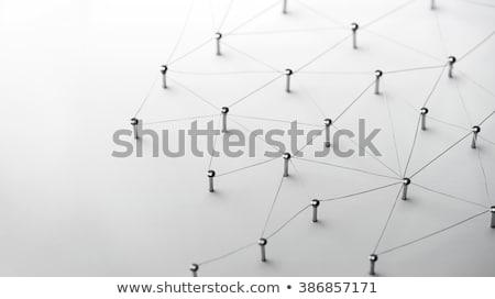 Réseau internet communication isolé blanche affaires Photo stock © designers