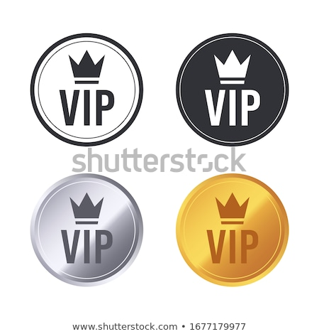 VIP Member Golden Badge Stock photo © liliwhite