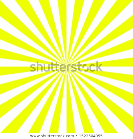 Abstract sun yellow radial rays tile vector background Stock photo © tuulijumala
