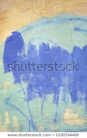Brickwall with graffiti on Stock photo © gemenacom