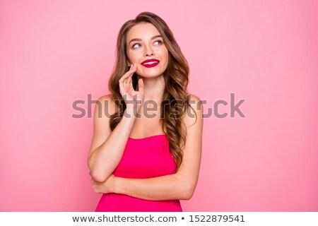 moda · foto · menina · brilhante · vestir - foto stock © majdansky