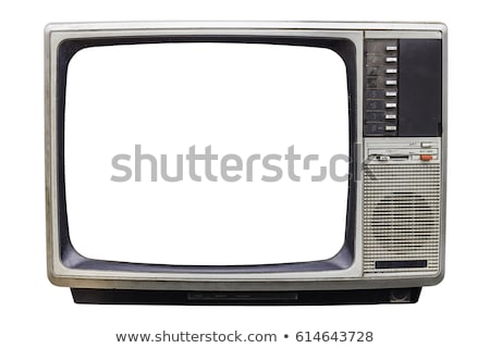 Old tv and TV screen Stock photo © Ava