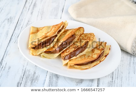 sugar crepe Stock photo © M-studio