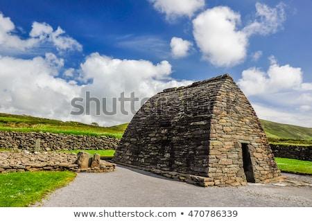 İrlanda · Bina · kilise · mimari · eski · açık - stok fotoğraf © phbcz