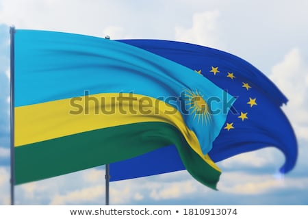 European Union and Rwanda Flags  Stock photo © Istanbul2009