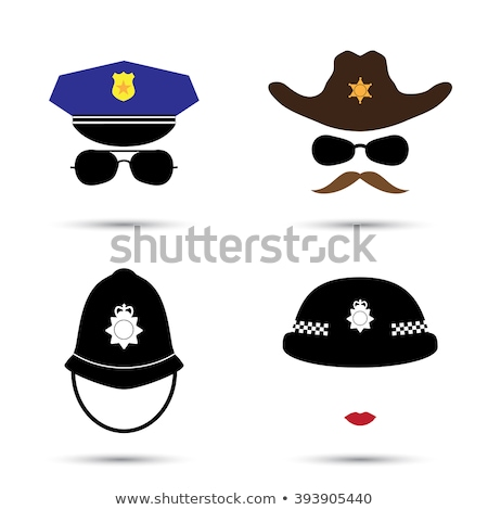 Policemans helmet Stock photo © prill