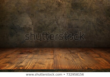 wooden floor with halloween background stock photo © sandralise
